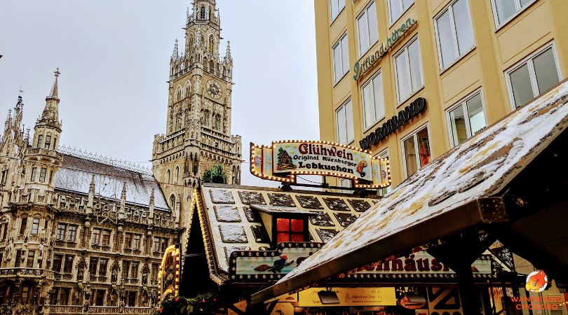 What to pack for a german munich christmas market winter holiday