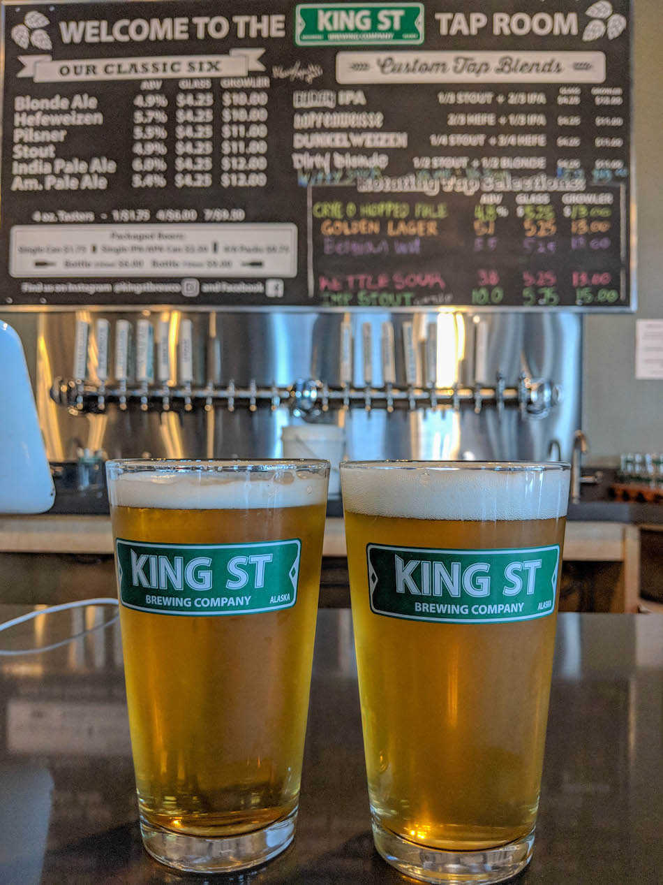 King Street Brewing Just Upgraded To A Nice Fancy Multi Floor Tasting Room Along With Seasonal Rotating Beers They Focus On Classics Like Hefeweizen