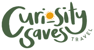 Curiosity Saves Travel Logo